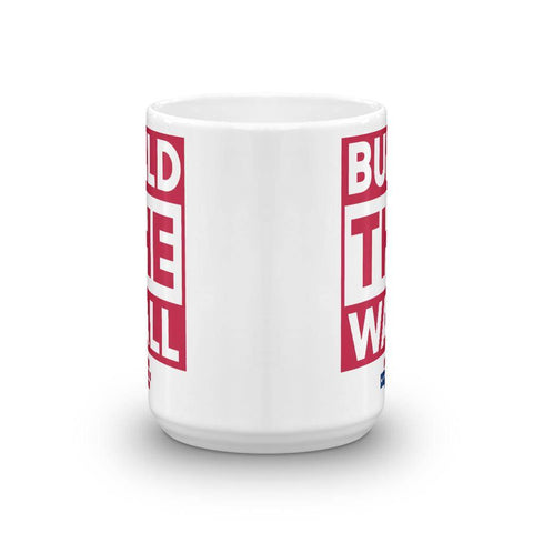 Image of BUILD THE WALL red Mug