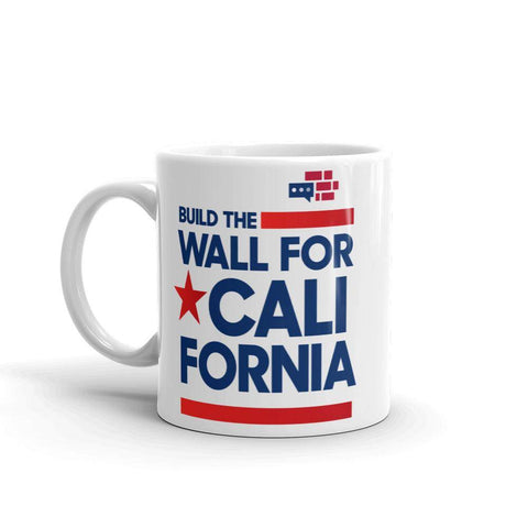 Build The Wall For California Mug