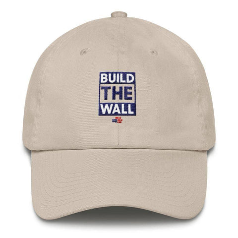 BUILD THE WALL blue Hat