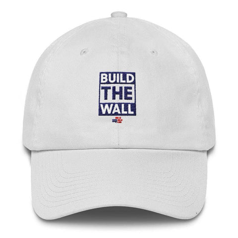 Image of BUILD THE WALL blue Hat