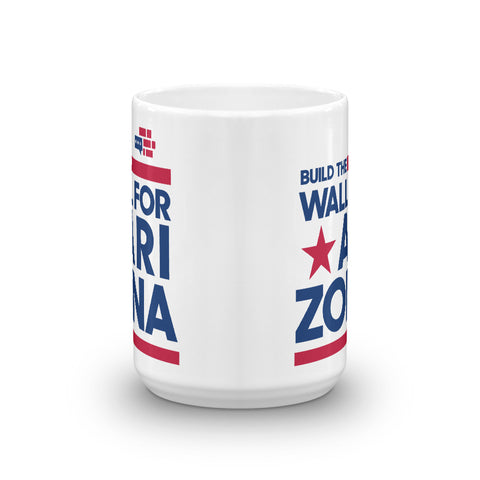 Image of Build The Wall For Arizona Mug