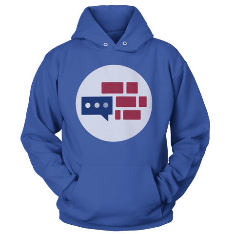 Image of We Build the Wall Emblem Hoodie