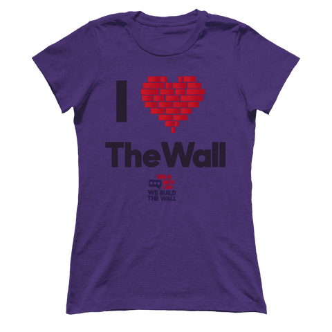 Image of I Love the Wall Women's Boyfriend T-Shirt