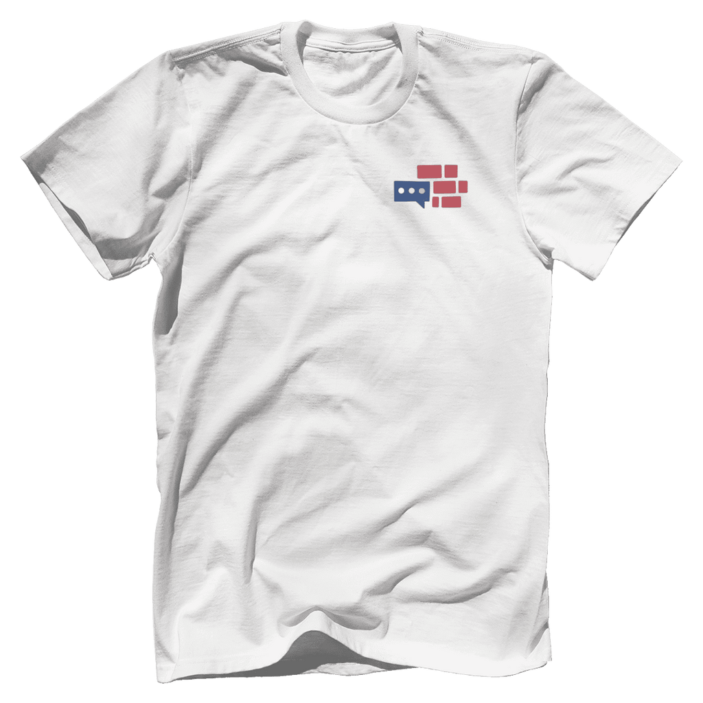 We Build The Wall Front & Back T-Shirt