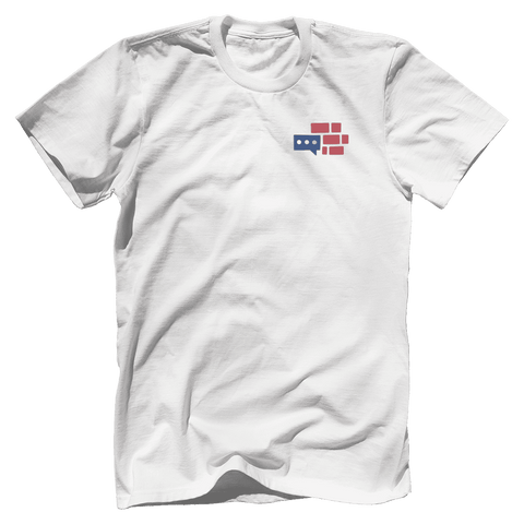 Image of We Build The Wall Front & Back T-Shirt