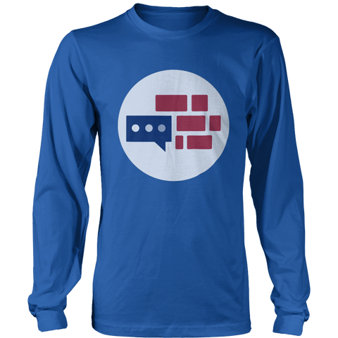 Image of Emblem Long Sleeve Shirt