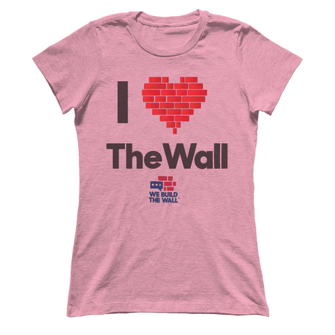 I Love the Wall Women's Boyfriend T-Shirt