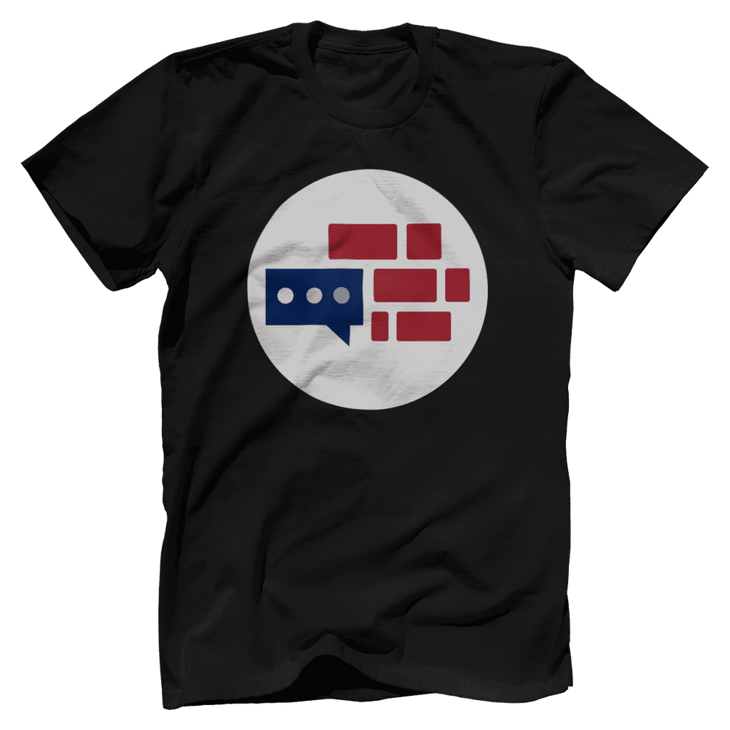 We Build The Wall Bricks T-Shirt