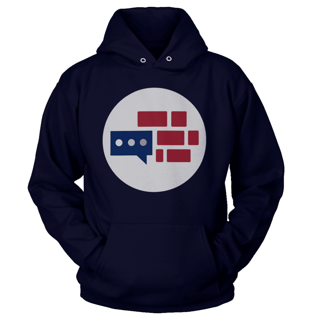 We Build the Wall Emblem Hoodie