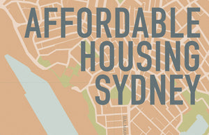 Sydney Architecture Festival: Affordable Housing Sydney Map Launch