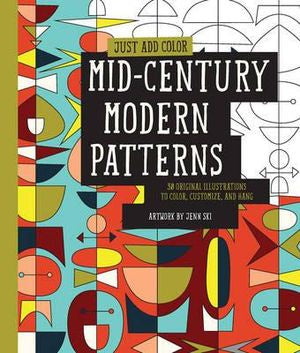 Just Add Colour: Mid- Century Modern Patterns
