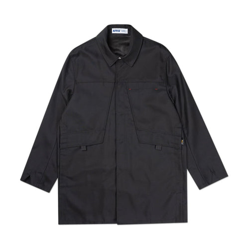 cordura double vent coat (black)