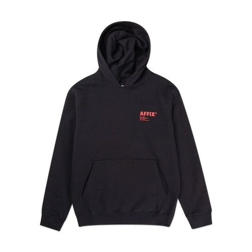 standardised logo hoodie (black)