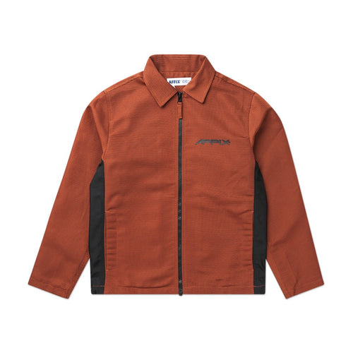 visibility coach jacket (orange)