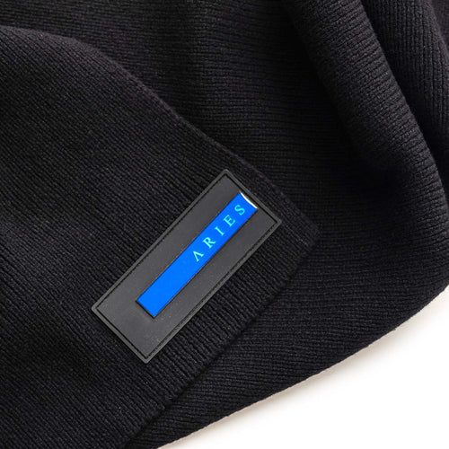 rubber patch scarf (black)