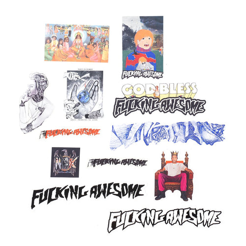 fa sticker pack assorted