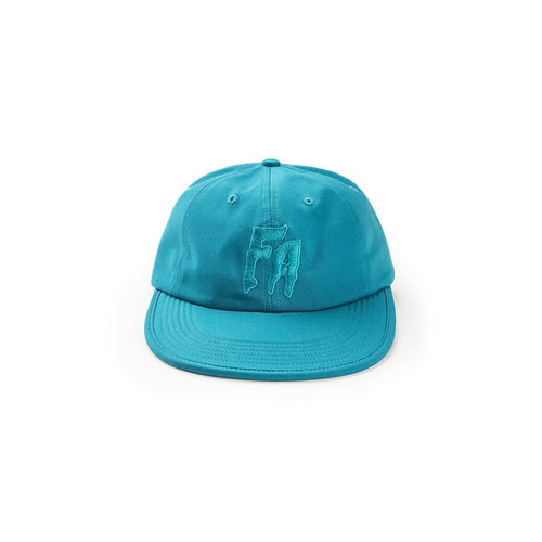 formless 6-panel hat (teal)