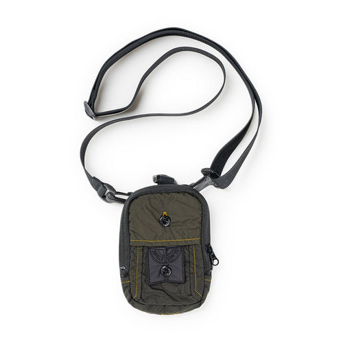 compact pouch (olive / black)