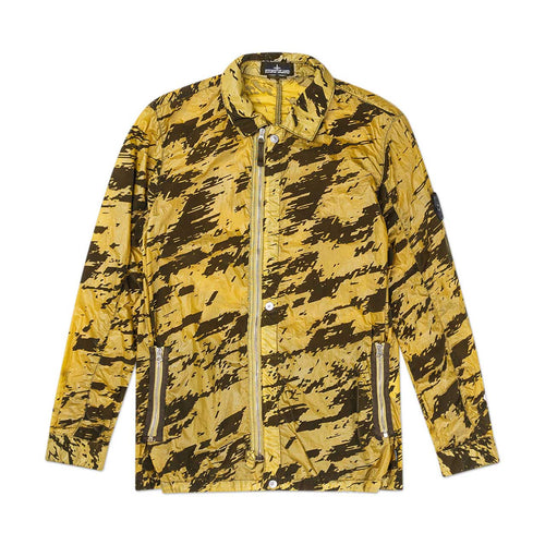 lucid flock camo zip jacket (army)