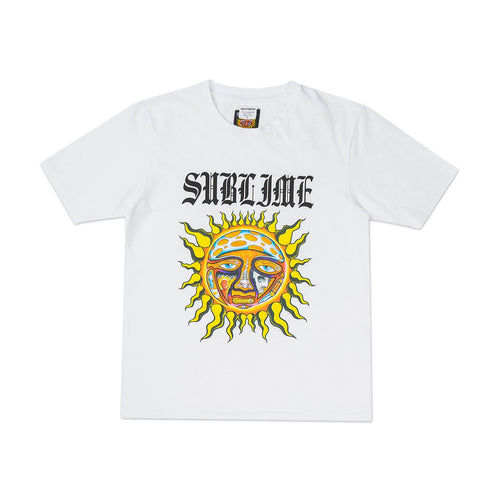 x sublime washed heavy weight t-shirt (type-5) (white)