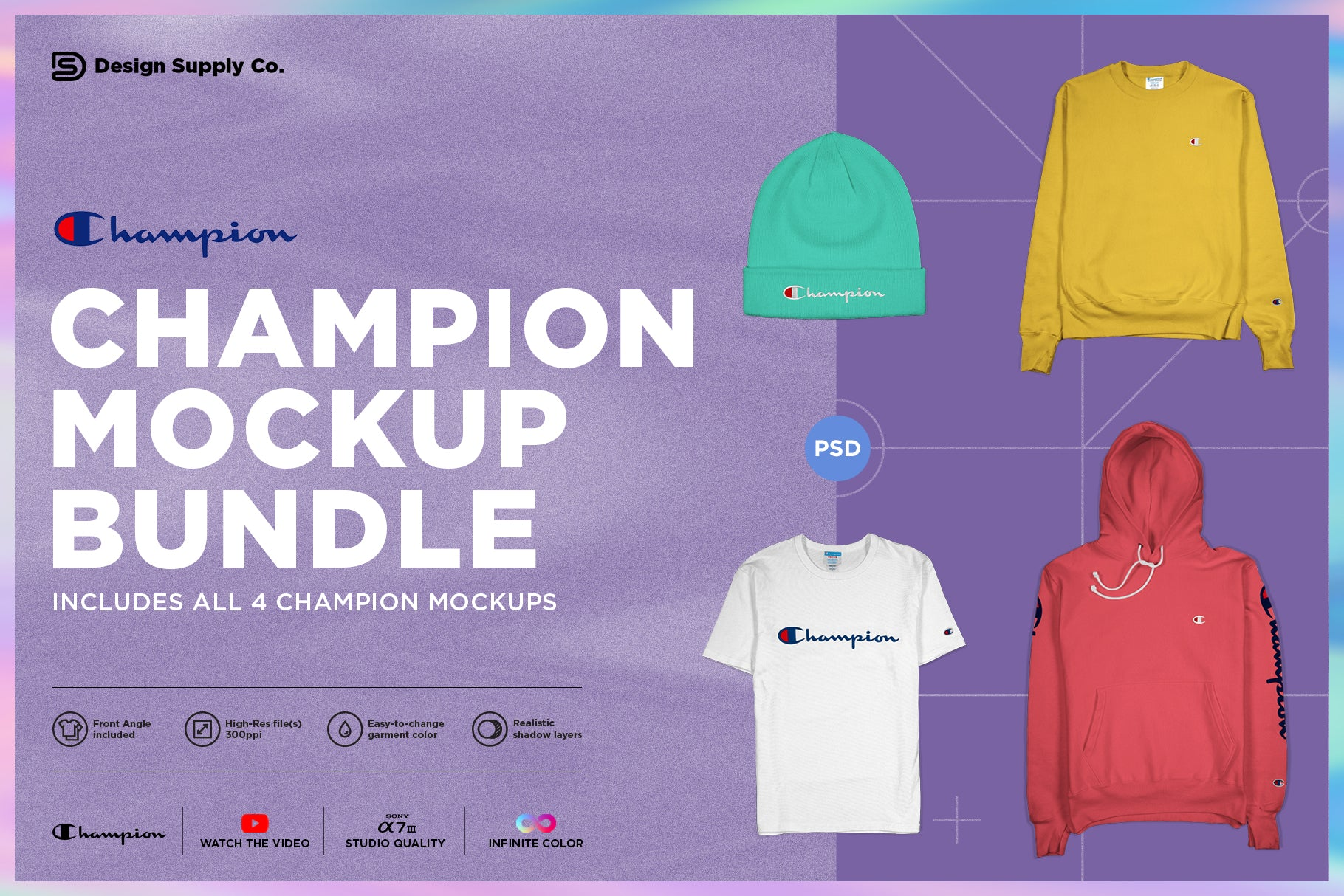 Champion Mockup Bundle
