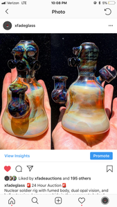 Nuclear soldier fumed art