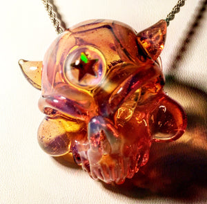 Spunion Skull (Color-Changing, Star Opal)