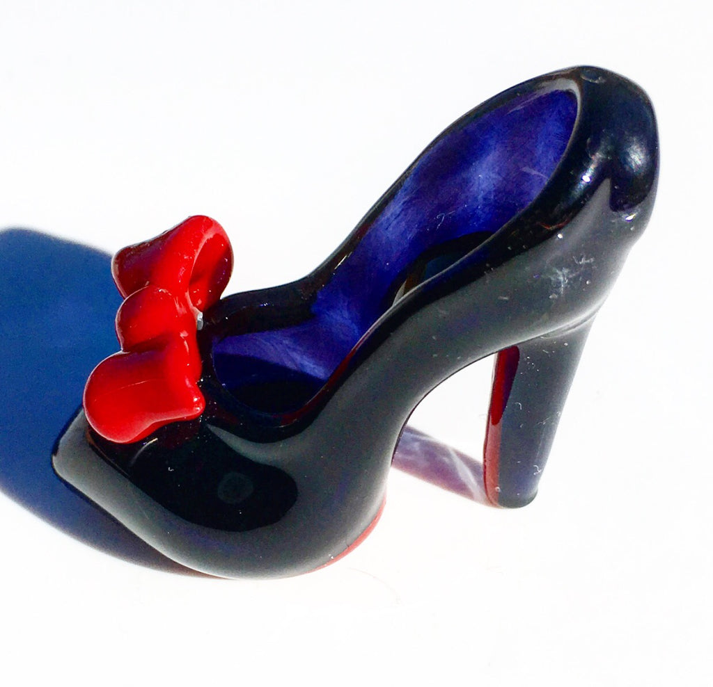 Red Bottom High Heel (Red Bow)