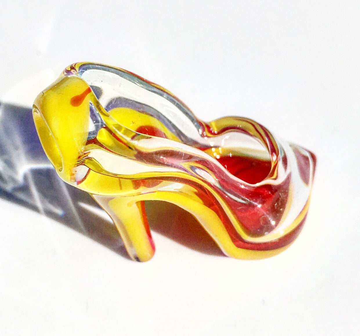 Red Bottom High Heel (Canary)