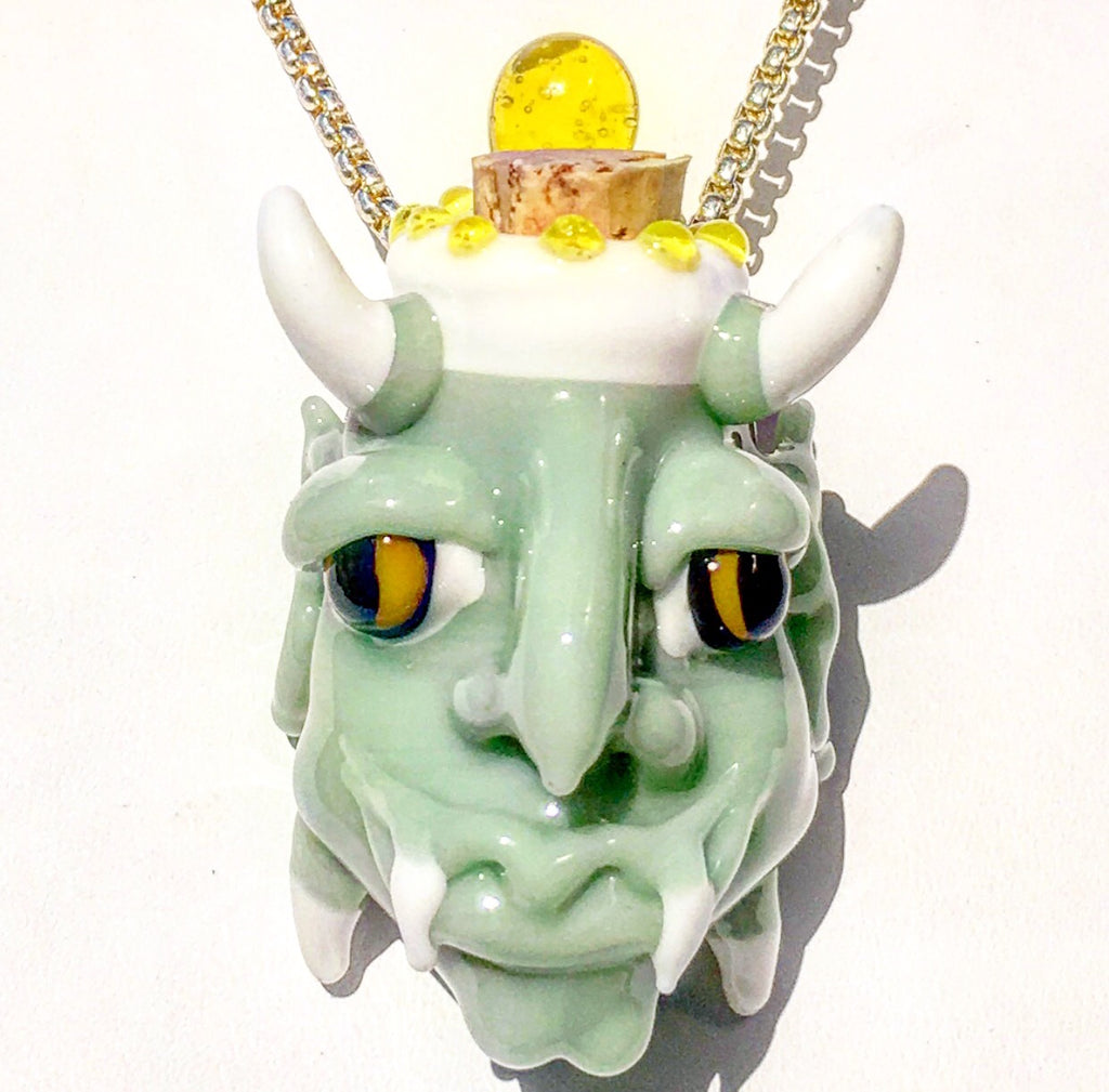 Demon Stash Jar Pendant