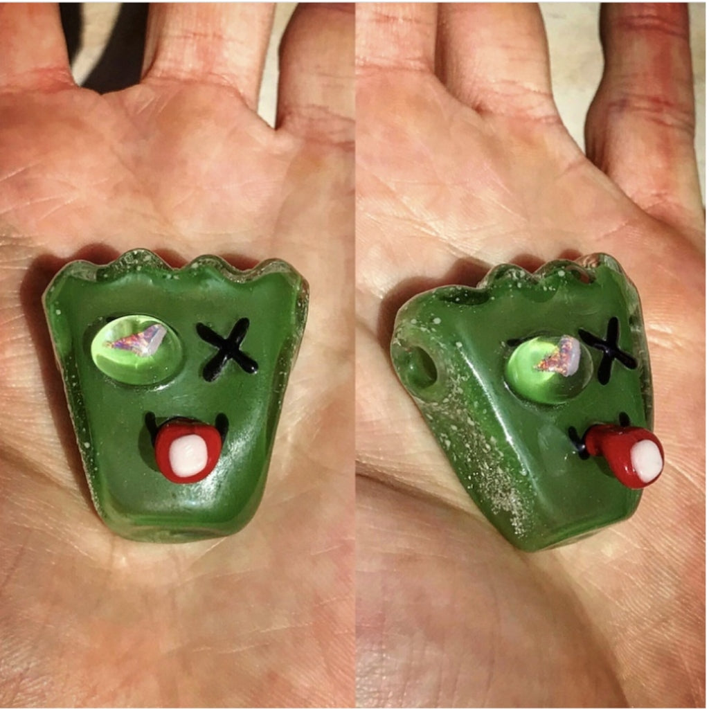Sour Kid Gummy Acid-Eater Pendant with Opal Eye