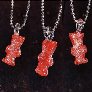 Red Sour Patch Kids Pendant