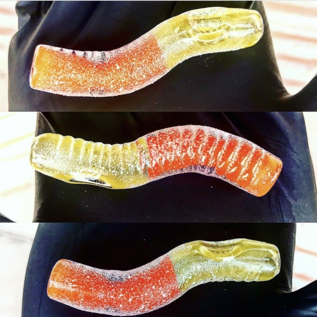 Sour Gummy Worm Pipe