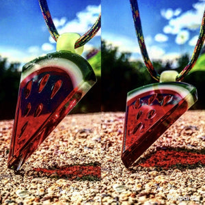 Watermelon Slice Pendant