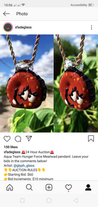 Aqua team hunger force meatwad pendant