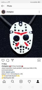 Jason execution mask pendy