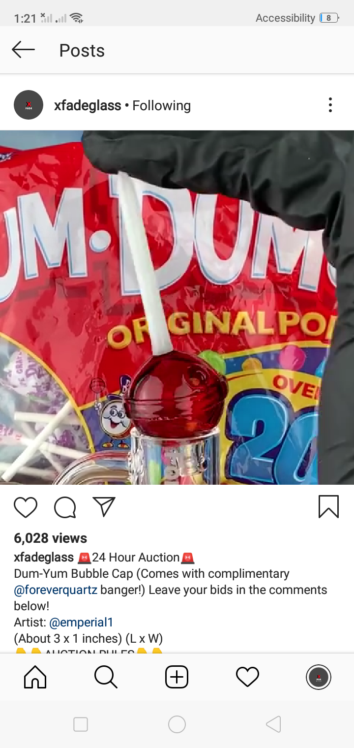 Dum yum bubblecap