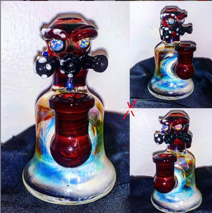 Nuclear Soldier Fumed Out with Opal Eyes