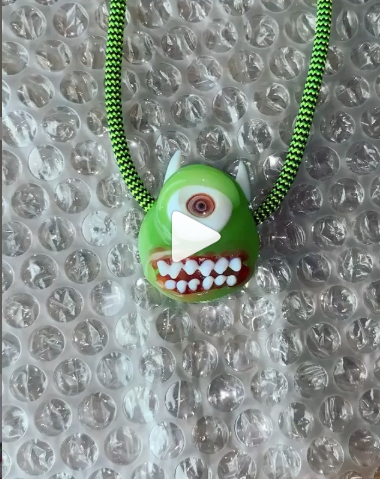 Mike Wazowski from Monsters Inc pendant