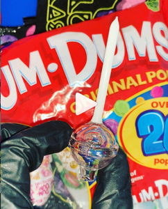 Watermelon Dum-yum bubble-cap/dabber