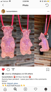 Gummy bear pendy art