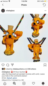Jake the dog pendy art