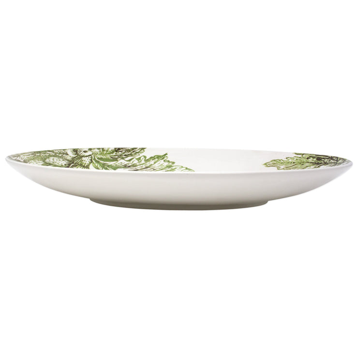 Artichokes Shallow Oval Bowl by VIETRI