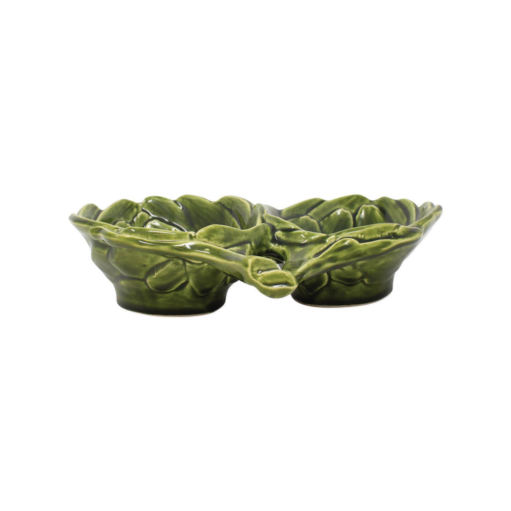 Artichokes Figural Artichoke Two-Part Server by VIETRI