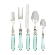 Aladdin Antique Aqua Five-piece Place Setting by VIETRI