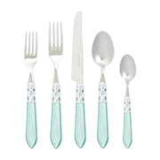 Aladdin Brilliant Aqua Five-piece Place Setting by VIETRI