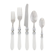 Aladdin Brilliant Clear Five-piece Place Setting by VIETRI