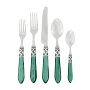 Aladdin Green Antique Five-piece Place Setting by VIETRI