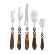 Aladdin Antique Tortoiseshell Five-piece Place Setting by VIETRI