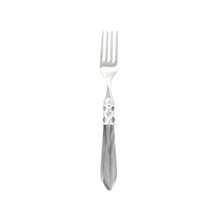 Aladdin Brilliant Light Gray Salad Fork by VIETRI